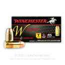 45 ACP Ammo - Winchester Train & Defend 230gr FMJ - 500 Rounds