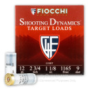 """Cheap 12 Gauge Ammo For Sale - 2-3/4"""" 1-1/8oz. #9 Shot Ammunition in Stock by Fiocchi - 25 Rounds"""