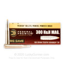 300 H&H Magnum Ammo For Sale - 180 gr Trophy Bonded Tip Federal Ammo Online