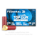 "Cheap 12 Gauge Ammo For Sale - 2-3/4"" 1oz. #8 Shot Ammunition in Stock by Federal Top Gun Sporting - 25 Rounds"