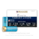 """Cheap 12 Gauge Ammo For Sale - 2-3/4"""" 1-1/8 oz. #7.5 Shot Ammunition in Stock by Fiocchi White Rino] - 25 Rounds0"""