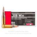 Cheap 308 Ammo For Sale - 150 Grain FMJBT Ammunition in Stock by Aguila - 20 Rounds