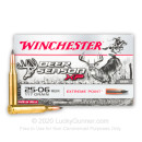 Premium 25-06 Ammo For Sale - 117 Grain Extreme Point Ammunition in Stock by Winchester Deer Season - 20 Rounds