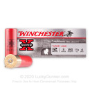 "12 Gauge Ammo - Winchester Super-X Turkey 3"" #4 Shot - 100 Rounds"