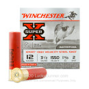 "12 Gauge Waterfowl Ammo - Winchester Super-X 3-1/2""  1-3/8 oz #2 Steel Shot - 25 Rounds"