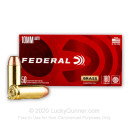 Cheap 10mm Auto Ammo For Sale - 180 Grain FMJ Ammunition in Stock by Federal Champion - 50 Rounds