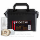 Bulk Reduced Recoil 12 ga Law Enforcement 00 Buck Shells For Sale - Fiocchi 00 Buck Law Enforcement Ammo in Plano Ammo Can - 80 Rounds