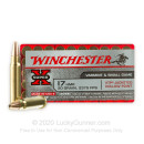 17 HMR Ammo For Sale - 20 gr JHP - Winchester Super-X Ammunition In Stock - 50 Rounds