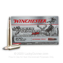 Cheap 270 Ammo For Sale - 130 Grain Extreme Point PT Ammunition in Stock by Winchester Deer Season XP - 20 Rounds