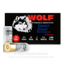 """Bulk 12 Gauge Ammo For Sale - 2-3/4"""" 1oz. #7.5 Shot Ammunition in Stock by Wolf Target Sport - 250 Rounds"""