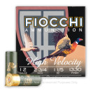 """Cheap 12 Gauge Ammo For Sale - 2 3/4"""" #7.5 Ammunition in Stock by Fiocchi High Velocity Hunting - 25 Rounds"""