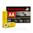 "20 Gauge Ammo - Winchester AA Heavy Target 2-3/4"" #7.5 Shot - 250 Rounds"