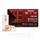 """Cheap 12 ga Target Shells For Sale - 2-3/4"""" 1 oz #7-1/2 Target Shell Ammunition by Fiocchi - 250 Rounds"""