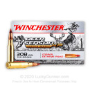 Premium 308 Ammo For Sale - 150 Grain Copper Extreme Point Ammunition in Stock by Winchester Deer Season XP Copper Impact - 20 Rounds