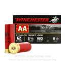 "Cheap 12 Gauge Ammo For Sale - 2-3/4"" 1 oz. #8.5 Shot Ammunition in Stock by Winchester AA - 25 Rounds"
