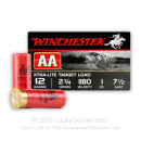 "12 Gauge Ammo - Winchester AA Xtra-Light Target 2-3/4"" #7.5 Shot - 25 Rounds"