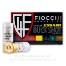 "Bulk 12 Gauge Ammo For Sale - 2 3/4"" #4 Shot Ammunition in Stock by Fiocchi - 250 Rounds"