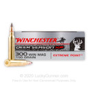 Premium 300 Win Mag Ammo For Sale - 150 Grain Polymer Tip Ammunition in Stock by Winchester Deer Season XP - 20 Rounds