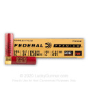 "Premium 12 Gauge Ammo For Sale - 3 1/2"" 2oz. #5/6/7 Shot Ammunition in Stock by Federal 3rd Degree - 5 Rounds"