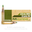 Cheap 5.56x45 Ammo For Sale - 62 Grain FMJBT M855 Ammunition in Stock by IMI - 30 Rounds