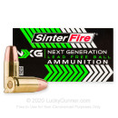 Premium 9mm Ammo For Sale - 100 Grain Lead-Free FMJ Ammunition in Stock by SinterFire Next Generation Lead Free - 50 Rounds