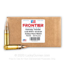 Bulk 5.56x45 Ammo For Sale - 55 Grain HP Match Ammunition in Stock by Hornady Frontier - 500 Rounds