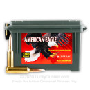 Cheap 6.5 Creedmoor Ammo For Sale - 120 Grain OTM Ammunition in Stock by Federal American Eagle - 100 Round Ammo Can