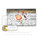 """Premium 12 Gauge Ammo For Sale - 2-3/4"""" 1-1/8oz. #8 Shot Ammunition in Stock by Federal Gold Metal Grand Plastic - 25 Rounds"""