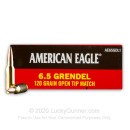 Premium 6.5 Grendel Ammo For Sale - 120 Grain OTM Ammunition in Stock by Federal - 20 Rounds