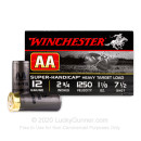 "12 Gauge Ammo - Winchester AA Super Handicap 2-3/4"" #7-1/2 Shot - 25 Rounds"