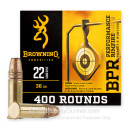 Cheap 22 LR Ammo For Sale - 36 Grain CPHP Ammunition in Stock by Browning - 400 Rounds