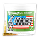 Bulk .223 Ammo For Sale - 55 Grain FMJ Ammunition in Stock by Remington - 300 Round Bucket