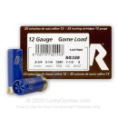 "Cheap 12 Gauge Ammo - 2-3/4"" Lead Shot Game shells - Rio Game Loads #8 - 25 Rounds"