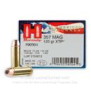 357 Mag Ammo - Hornady American Gunner 125 gr JHP XTP - 25 Rounds