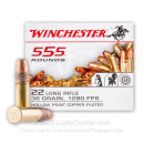 Cheap 22 LR Ammo For Sale - 36 gr Copper Plated Hollow Point Ammunition CPHP - Winchester - 555 Rounds