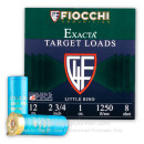 """Cheap12 Gauge Ammo For Sale - 2-3/4"""" 1 oz. #8 Shot Ammunition in Stock by Fiocchi Little Rino - 25 Rounds"""