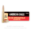 30-06 M1 Garand Ammo For Sale - 150 gr FMJ - Federal American Eagle Ammo Online