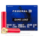 """Cheap 32 Gauge Ammo For Sale - 2-1/2"""" 1/2oz. #8 Shot Ammunition in Stock by Federal Game Load - 25 Rounds"""