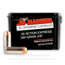 50 Action Express Ammo In Stock - 300 gr JHP - 50 AE Ammunition by MRI For Sale - 20 Rounds