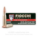 Premium 308 Ammo For Sale - 168 Grain HP-BT Ammunition in Stock by Fiocchi Exacta Sierra MatchKing - 20 Rounds