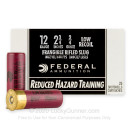 """Premium 12 Gauge Ammo For Sale - 2-3/4"""" 3/4oz. Frangible Rifled Slug Ammunition in Stock by Federal Reduced Hazard Training Low Recoil - 25 Rounds"""