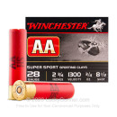 """Cheap 28 Gauge Ammo For Sale - 2-3/4"""" 3/4 oz. #8.5 Shot Ammunition in Stock by Winchester AA Sporting Clays - 25 Rounds"""