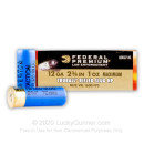 """12 ga LE Slugs For Sale - 2-3/4"""" 1 Ounce TruBall Rifled Slugs by Federal Law Enforcement Tactical - 5 Rounds"""