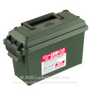 MTM Case-Gard Forest Green Brand New 30 Cal Tall Plastic Ammo Cans For Sale
