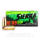 Premium 9mm Ammo For Sale - 124 Grain JHP Ammunition in Stock by Sierra Outdoor Master - 20 Rounds