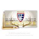 Premium 300 Winchester Magnum Ammo For Sale - 180 Grain 180 Grain Scirocco II PTS Ammunition in Stock by Fiocchi Extrema  - 20 Rounds
