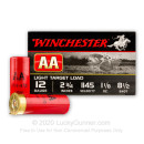 "Cheap 12 Gauge Ammo For Sale - 2-3/4"" #8-1/2 Shot Ammunition by Winchester - 25 Rounds"