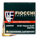 Cheap 223 Rem Ammo For Sale - 55 Grain V-MAX Ammunition in Stock by Fiocchi - 50 Rounds