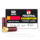 "Bulk 12 Gauge Ammo For Sale - 2-3/4"" 1-1/8oz. #9 Shot Ammunition in Stock by Federal Target Load Paper Shotshells - 250 Rounds"
