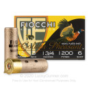 """Premium 12 Gauge Ammo For Sale - 3"""" 1-3/4oz. #6 Shot Ammunition in Stock by Fiocchi Golden Pheasant - 25 Rounds"""